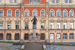 Sculpture of Torgils Knutsson Stock Photography
