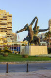 Sculpture in Torremolinos, Spain Royalty Free Stock Photo