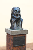 Sculpture in town San Sebastian - La Gomera Island - Canary Spai Stock Image