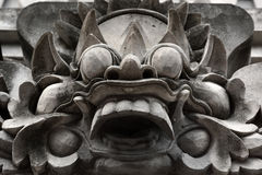 Sculpture traditionnelle en Bali de temple, Ubud Bali Images stock