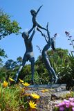Sculpture, Tresco, îles de Scilly Photographie stock