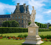 Sculpture from Tuileries Gardens Royalty Free Stock Image