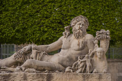 Sculpture in Tuileries Gardens Royalty Free Stock Photography