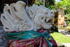 Sculpture in Ubud palace, Bali Royalty Free Stock Photos