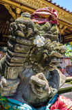 Sculpture in Ubud palace, Bali Royalty Free Stock Photo