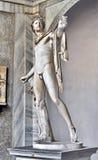 Sculpture in Vatican, Italy stock images