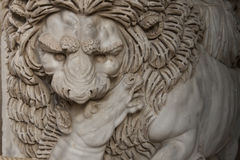 Sculpture in Vatican Royalty Free Stock Photo