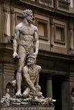 Sculpture Vecchio. Sculpture in front of Palazzo Vecchio. Italy Stock Photo