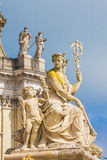 Sculpture at Versailles Palace in Paris, France Royalty Free Stock Image