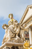 Sculpture at Versailles Palace in Paris, France Royalty Free Stock Photography