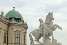 Sculpture in Vienna Stock Image