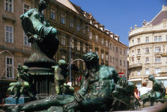 Sculpture in Vienna Stock Images
