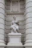 Sculpture from Vienna Royalty Free Stock Photo