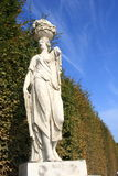 Sculpture in the Vienna schonbrunn castle gardens Royalty Free Stock Photo