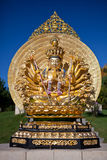 The sculpture in Vietnamese monastery. A sculpture in Vietnamese monastery Stock Images