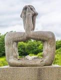 Sculpture in Vigeland park Oslo. Norway. Stock Photos