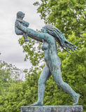 Sculpture in Vigeland park Oslo. Norway. Royalty Free Stock Photography