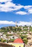Sculpture of the Virgin in Panecillo Quito Ecuador Stock Photos