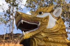 Sculpture at Wat Phra That Doi Kong Mu Royalty Free Stock Image