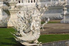 Sculpture in White Temple Wat Rong Khun inChiang Rai Stock Photography