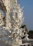Sculpture in White Temple Wat Rong Khun inChiang Rai, Thailand Royalty Free Stock Photos