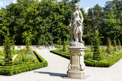 Sculpture in the Wilanow park in Warsaw Royalty Free Stock Images