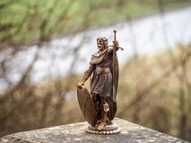 Sculpture of William Wallace, Stirling, Scotland royalty free stock photography