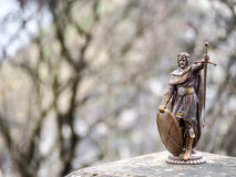 Sculpture of William Wallace, Stirling, Scotland stock photography