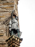 Sculpture of William Wallace, Stirling, Scotland Royalty Free Stock Photos