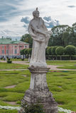 Sculpture of a woman. In the Park Kuskovo, Moscow stock images