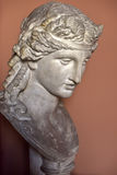 sculpture of a woman's head Royalty Free Stock Images