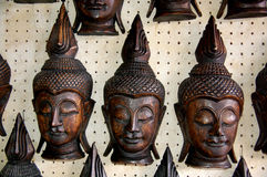Sculpture  wood. Sculpture wood the art of Thais people Stock Image