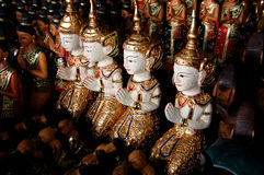 Sculpture  wood. Sculpture wood the art of Thais people Stock Photography