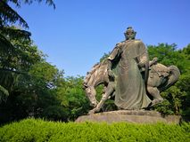The sculpture of yue fei Royalty Free Stock Image
