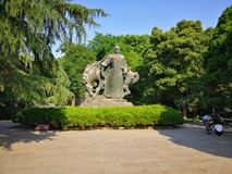 The sculpture of yue fei Royalty Free Stock Photos