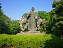 The sculpture of yue fei Royalty Free Stock Photography