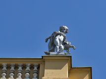 Sculpture on Zagreb National theate Royalty Free Stock Photo