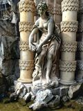 Sculpture in the Zwinger Palace Stock Photography