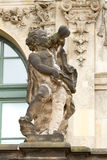 Sculpture in Zwinger palace Stock Photos