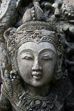 Sculptured beauty closeup Stock Images