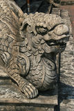Sculptured dragon - Imperial city - Hue - Vietnam Stock Image