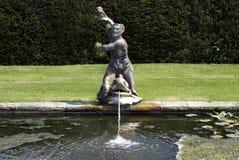 Sculptured fountain. sculptural fountain Stock Photography