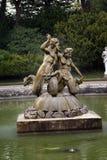 Sculptured fountain. sculptural fountain Royalty Free Stock Photo