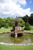 Sculptured fountain. sculptural fountain Royalty Free Stock Images