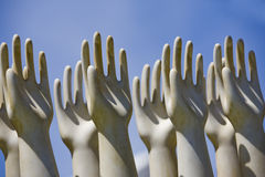 Sculptured Hands Royalty Free Stock Photo