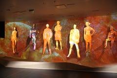 Sculptures à l'expo 2015 en Milan Italy Photos libres de droits