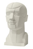 Sculptures anatomy head for drawing Stock Photos
