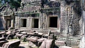 Sculptures at Angkor Wat Royalty Free Stock Image