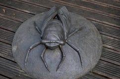 Sculptures animales en métal à l'aire de loisirs de réserve forestière de Zhiben, Taïwan Photos libres de droits