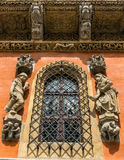 Sculptures and architectural details Royalty Free Stock Image